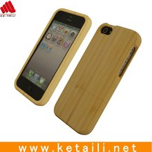 Hot sale natural wood bamboo case for iphone 5 5s