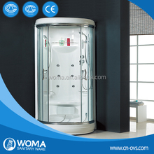 WOMA Y830 enclosed steam shower room/steam shower room for two people/portable steam room