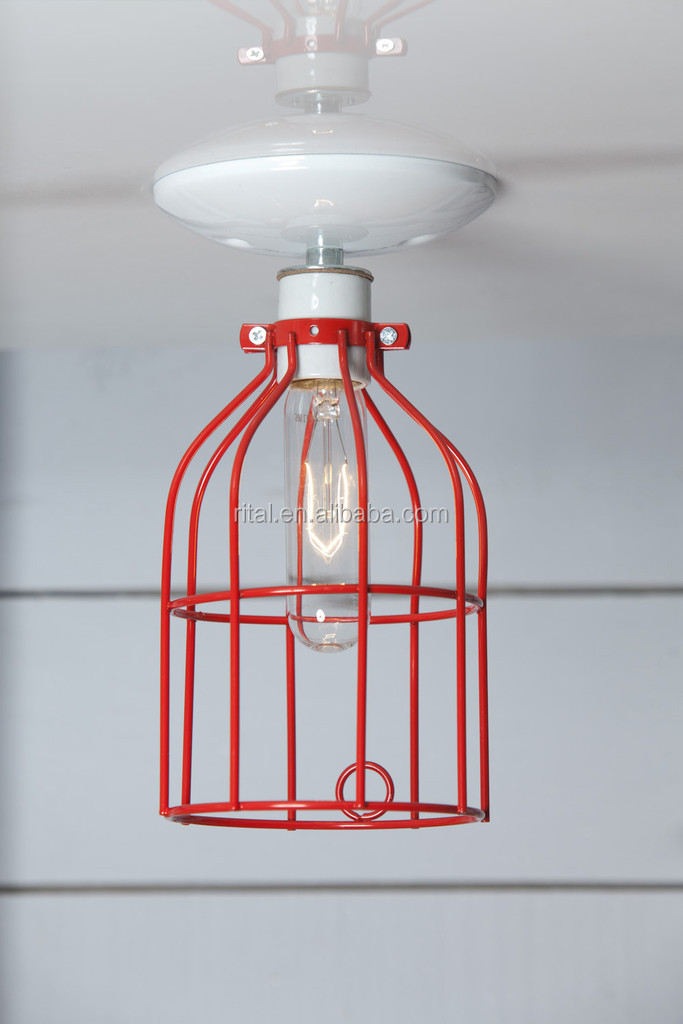 industrial light bulb cage wire lamp guard buy. Black Bedroom Furniture Sets. Home Design Ideas