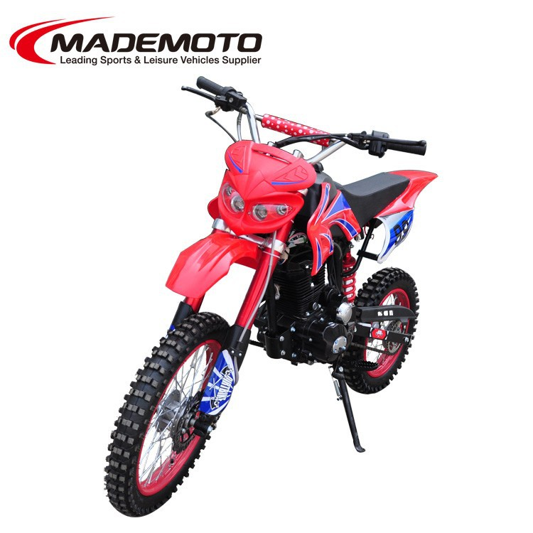 New 125cc 150cc adult dirt bike off road pit bike with manual