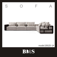 Famous upholstery brands luxury wood sofa furniture