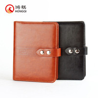 HQ002 2016 new product personal design printing diary notebook cover ,custom cute leather diary with code lock and key