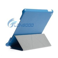 2014 New Ultra Slim Smart Cover Stand PU Leather Case for iPad 5 iPad Air
