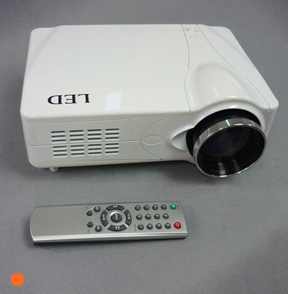 led projector with tv tuner hdmi with USB/SD support rmvb video