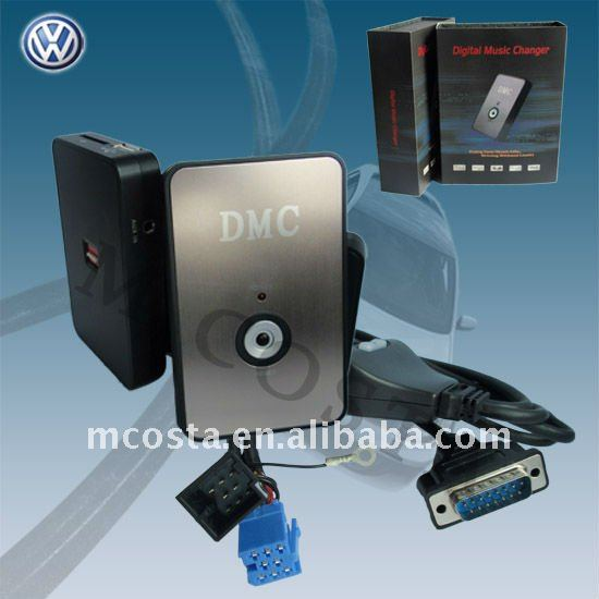 Auto Usb Adapter with AUX SD for audi 8pin(CE approved)