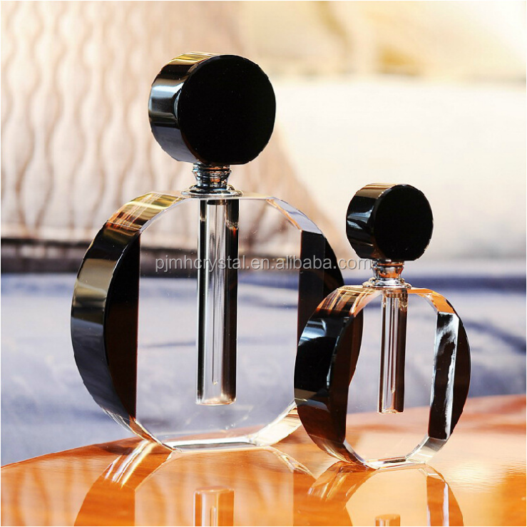 MH-XSP104 New fashion transparent crystal perfume bottle