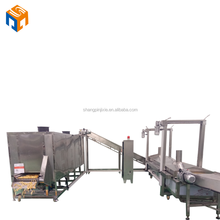 automatic frozen french fries production line plant for sale
