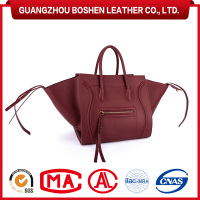 China Handbag Manufacturer High End Ladies Brand Handbag