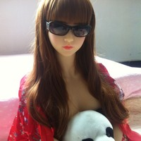JND066 165cm custom love Face 31 naked young girl silicone sex doll realistic