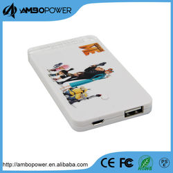 Credit Card Flashlight 2400mah Ultra Slim Power Bank
