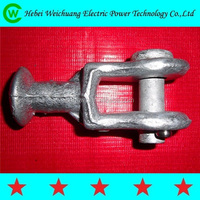QU type ball eye/line fitting / overhead power line fitting made in weichuang