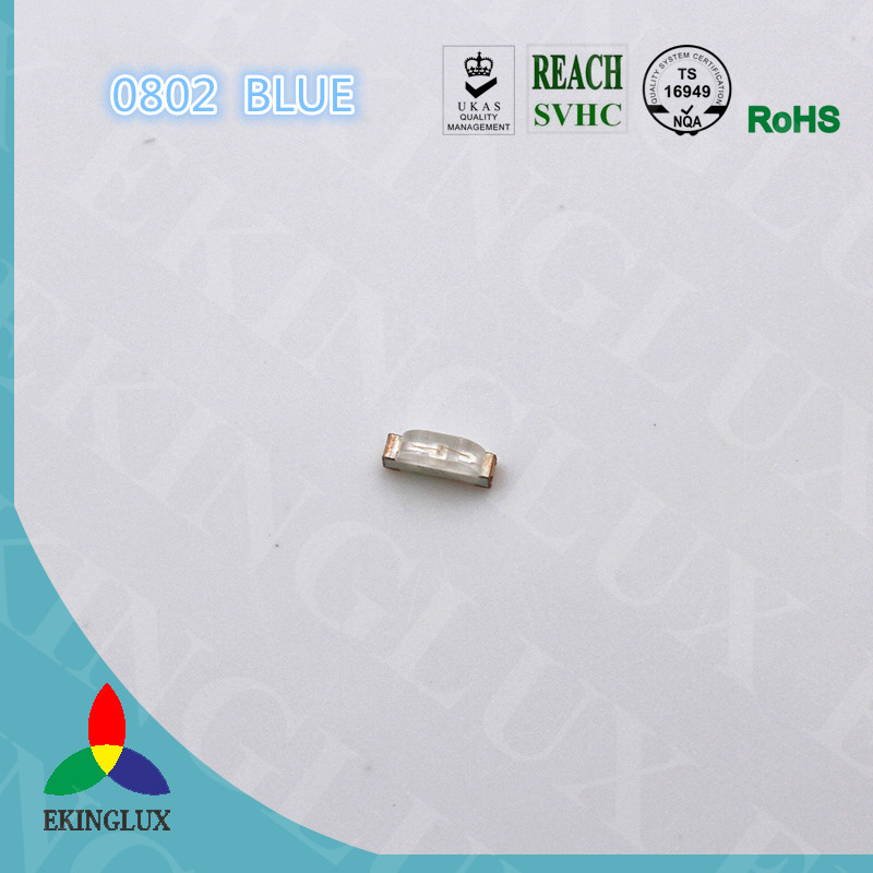 Top Quality 0805 side view blue smd led manufactured in China