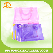 Audit factory,New Listing,Hot Sale, PVC handle Bag for Various Usages