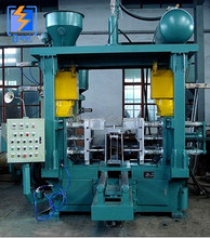 Sand casting core shooting machine, Vertical parting core shooter, Resin coated sand molding machine