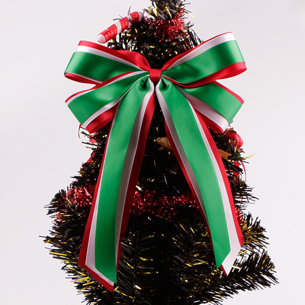 Arco de la cinta para decoraciones para rboles de navidad - Arboles de navidad artificiales ...