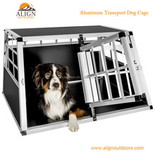 Aluminum Dog Transport Box/Kennel/Cage