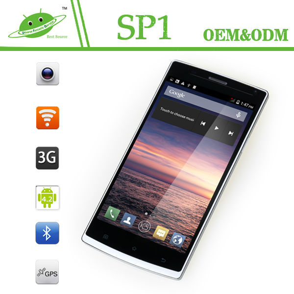 Good quality 5.5 inch MTK6582 Quad core Android 4.4 android yxtel mobile phone