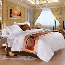 Wholesale Bed Sheets in Guangzhou 5 Star Luxury Hotel Linen Egyptian Cotton Modern Bedroom Sets