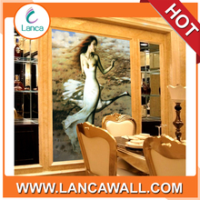 interior decoratin beautiful hot girl sexy picture 3d wall paper pict