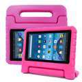 Kids Light Weight Shockproof Case With Convertible Handle Stand for Amazon Fire 7 Cover