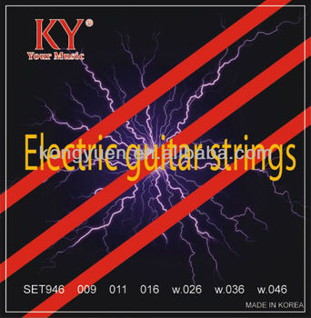 Normal light guitar strings/nickel electric guitar strings