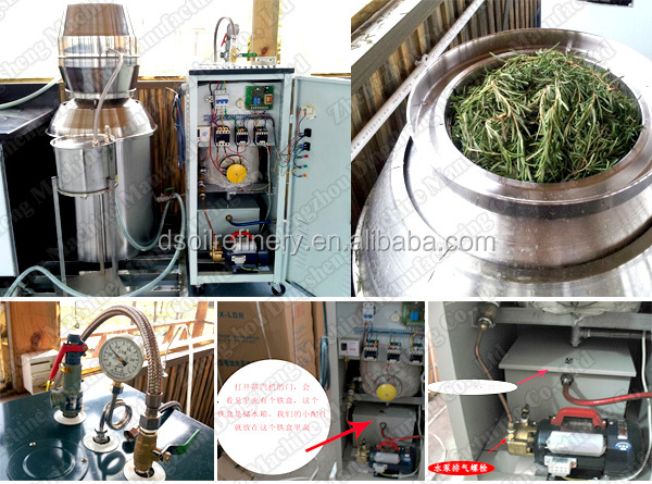 Rosemary/Lavender/Violets essential oil distillation project