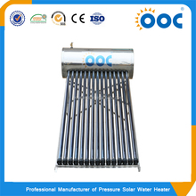 High quality factory price solar energy water heater slogan with heat pipe collector