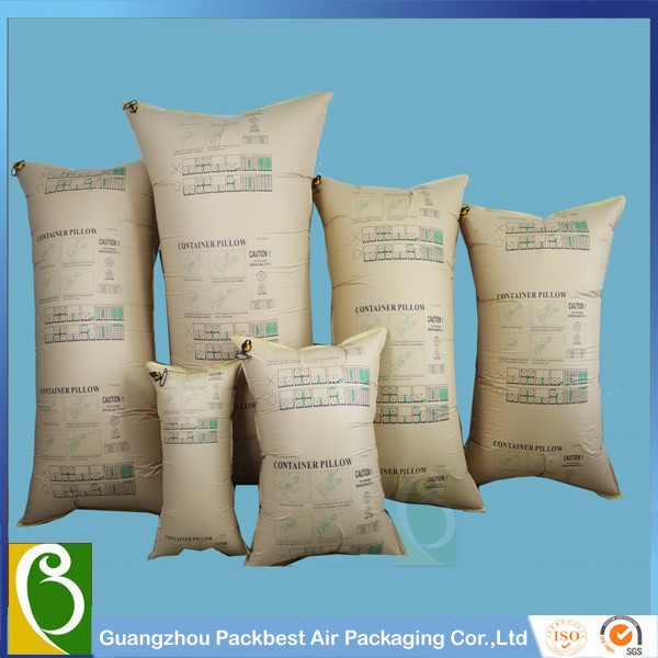 Kraft paper+HDPE+NYLON high quality container dunnage air bag