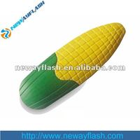 Funny design corn shape plastic usb memory 8gb