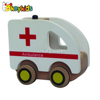 2016 Wholesale Baby Wooden Medical Car