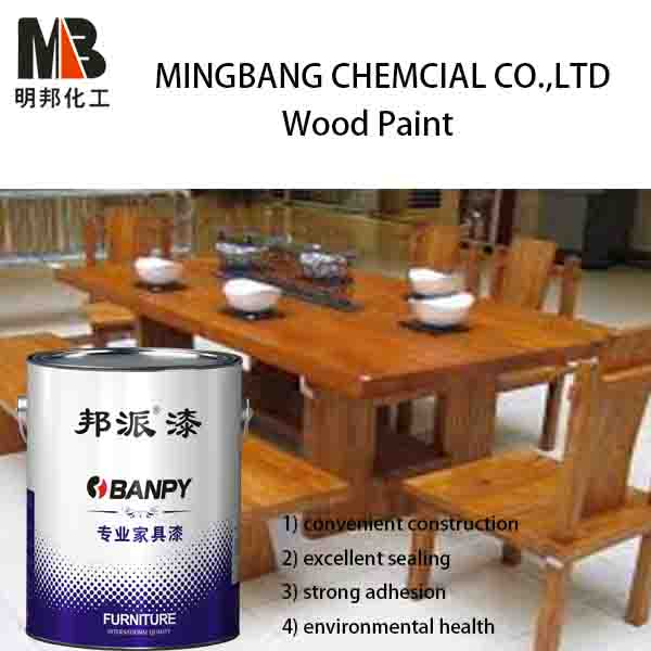PU wood furniture clear lacquer finishes paint