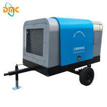 185cfm Portable Rotary Screw Diesel Air Compressor For Drilling
