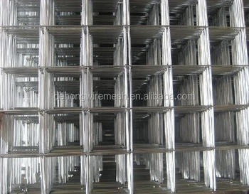 Stainless steel welded wire mesh / 4x4 welded wire mesh panel / Galvanized welded