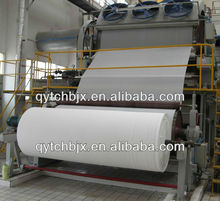 2400mm single cylinder single wire &single felt high speed toilet paper making machine