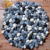 Elegant Preminum Customized Pebble Craft Wool Felt Ball Rug