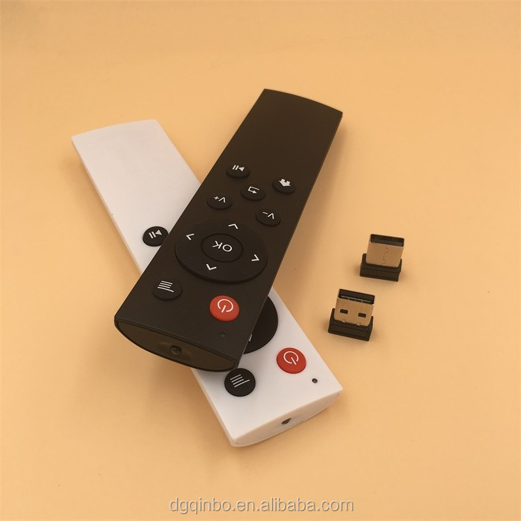 12 keys 2.4G network set-top box remote control smart TV universal remote control with USB