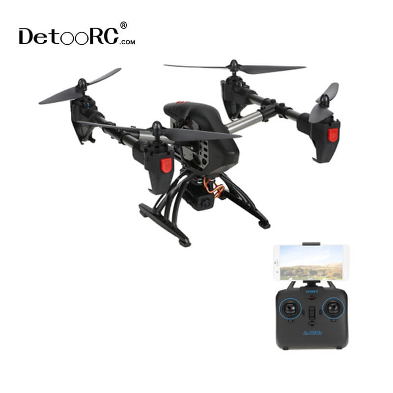 Detoo Adults Airplane Toys <strong>720P</strong> <strong>Quad</strong> Copter Fpv Racing Drone With <strong>Hd</strong> Camera