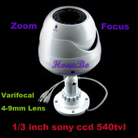 Sony 560TV Line CCD Varifocal 4-9mm Lens Surveillance Security IR CCTV Camera