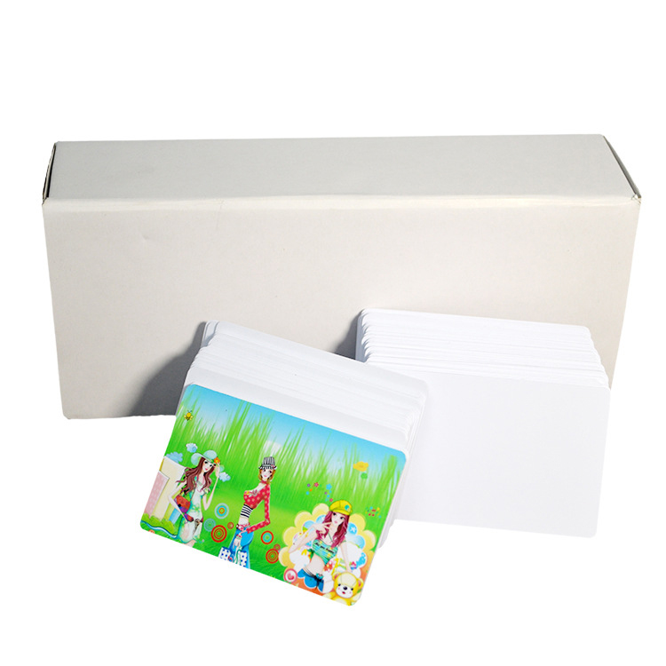 new style personal sublimation blank pvc card for CMYK printing