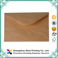 2015 China wholesale printing custom size A4 paper kraft envelope