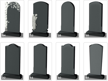 Chinese supplier of funeral us style granite monument