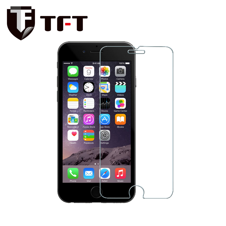 0.33mm 9H High Quality Clear Tempered Glass Screen Protector For iPhone 6 / plus