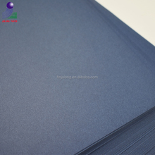 Dark colors pulp blue cardstock paper colored notebook paper