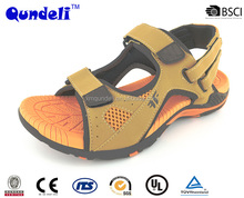 2016 high quality with compative price rubber outsole anti slip men's eva sandal