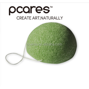 100% natural konjac facial cleaning sponges cereal puff
