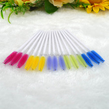 Disposable Eyelash shadow Brush Mascara Wands Applicator Spoolers Makeup Tool