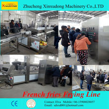eans, peas, peanuts and other nuts continuous fryer, Gas industrial Frying Machine