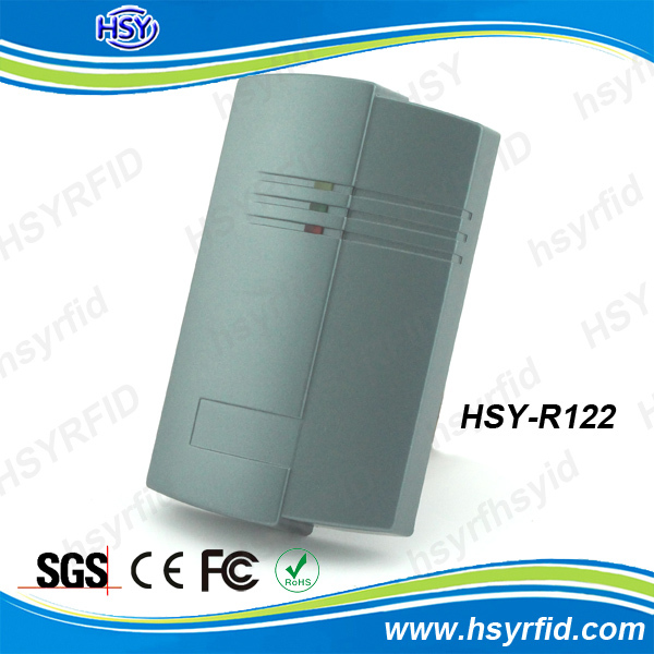 HSY-R122 hot selling access control smart 13 56 mhz rfid reader with ip65 waterproof