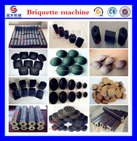 30 years experience six kinds charcoal briquette processing machine