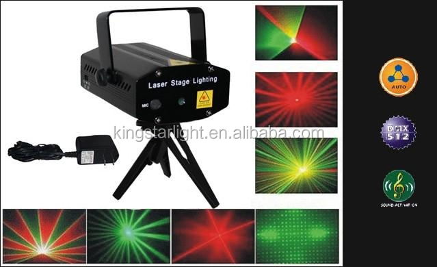 200mW Red DMX mini moving head Fat Beam Laser Stage Lighting